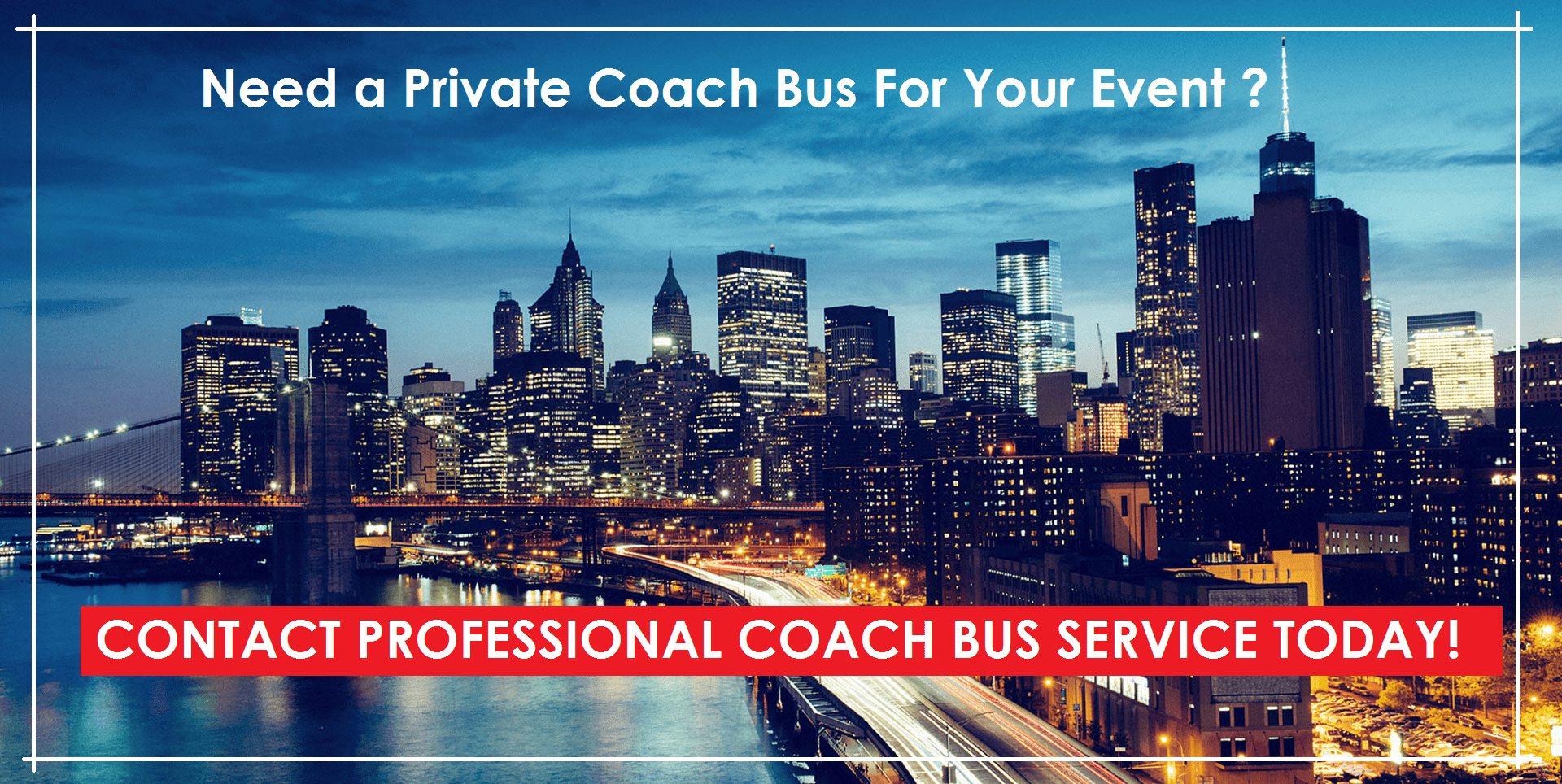 Long Island Coach Bus - Contact Us